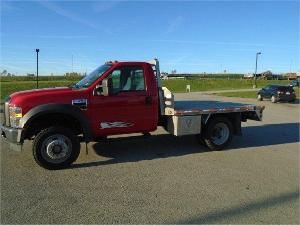 2009 FORD F450 Flatbed Truck