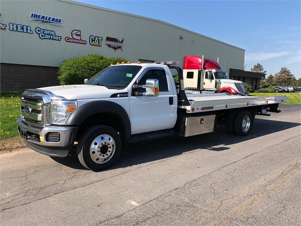 2015 FORD F550 Rollback Tow Truck