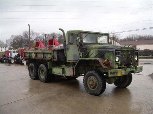 USED 1984 AM GENERAL M923A1 FLATBED TRUCK #556187