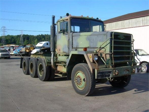 USED 1980 AM GENERAL M920 OIL FIELD TRUCK #604569