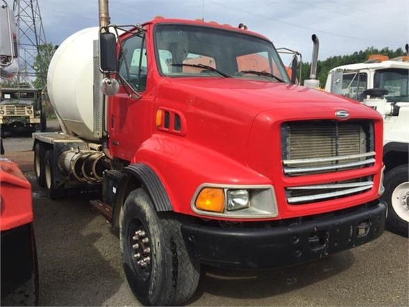 USED 2000 STERLING A9500 CONCRETE MIXER TRUCK #615637