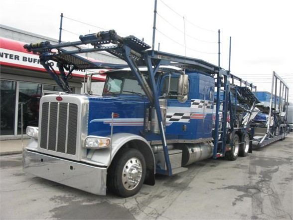 Car Carriers For Sale >> 2015 Peterbilt 389 Car Carrier For Sale 606925 Ny