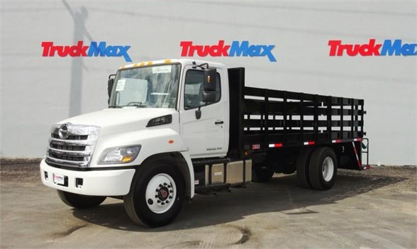 2017 HINO 268A Flatbed Truck