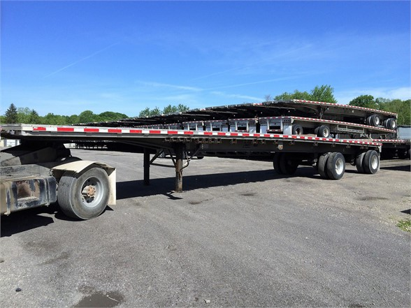 2012 EAST BST Flatbed Trailer