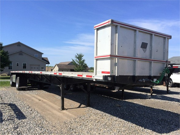 1998 FONTAINE FLATBED Flatbed Trailer