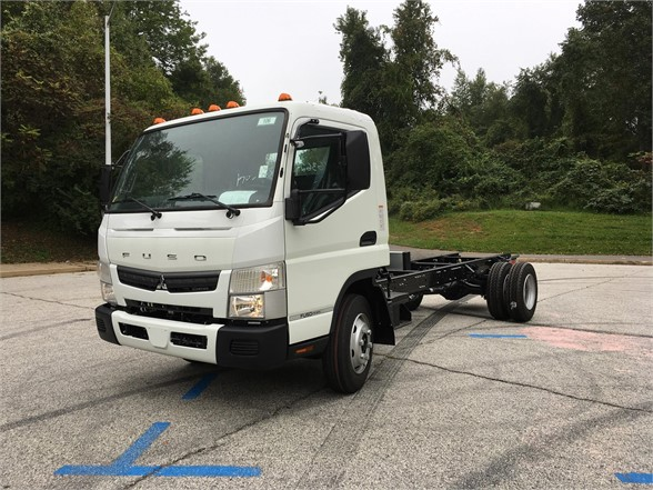 NEW 2019 MITSUBISHI FUSO FE160 CAB CHASSIS TRUCK #615894