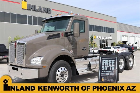 NEW 2019 KENWORTH T880 DAYCAB TRUCK #636640