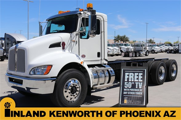 NEW 2019 KENWORTH T370 CAB CHASSIS TRUCK #636662