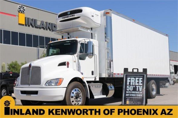 NEW 2020 KENWORTH T270 REEFER TRUCK #640697