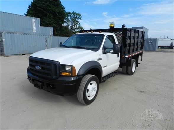 2008 FORD F450 XL SD Flatbed Truck