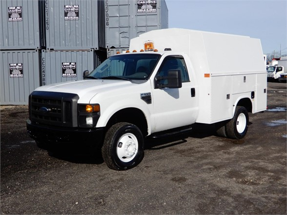 USED 2009 FORD F350 XL SD SERVICE - UTILITY TRUCK #613985