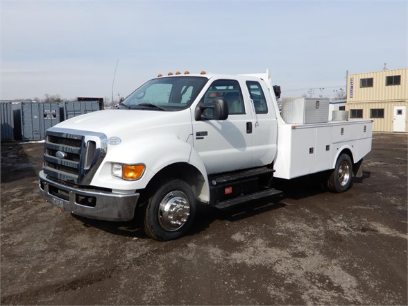 USED 2008 FORD F650 SERVICE - UTILITY TRUCK #625875