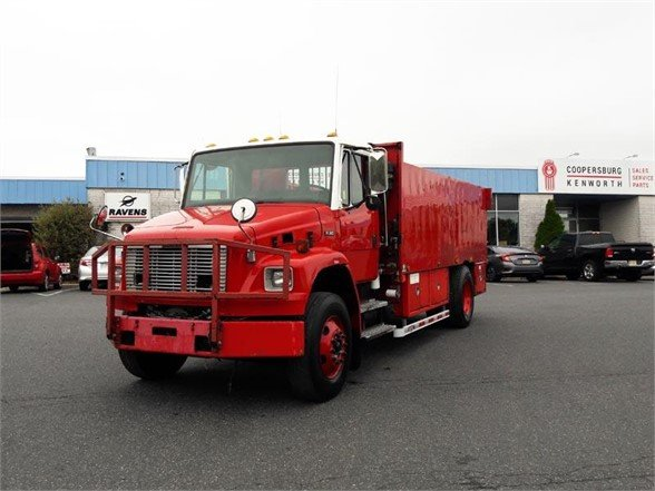 USED 2002 FREIGHTLINER FL80 SERVICE - UTILITY TRUCK #655310