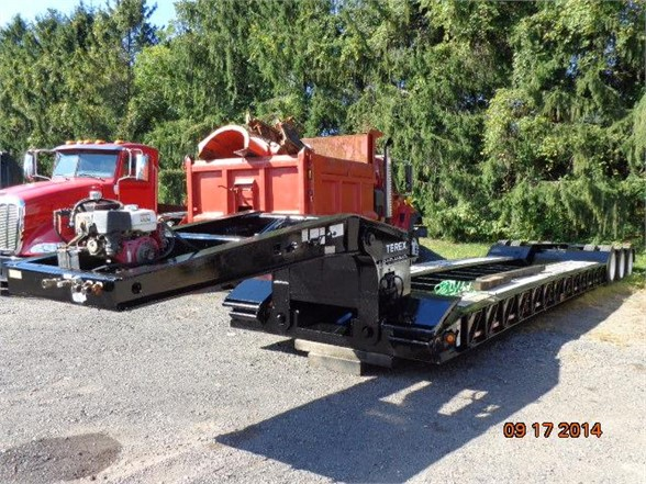 USED 2009 LOAD KING LOW BOY 553SS LOWBOY TRAILER #639640