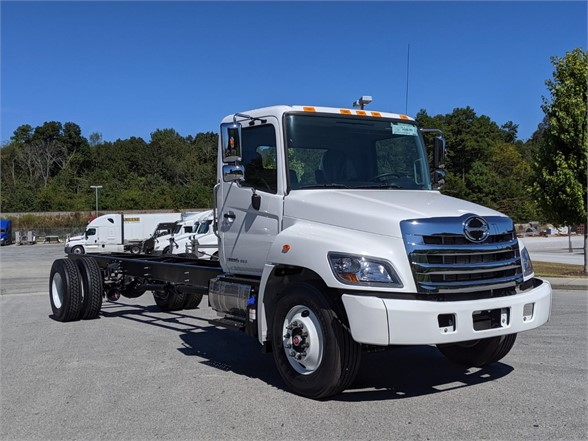 2020 HINO 338 CAB CHASSIS TRUCK #705335