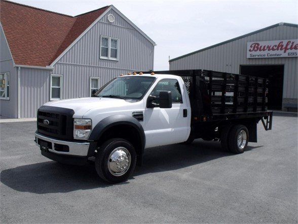 2009 FORD F550 SD Flatbed Truck