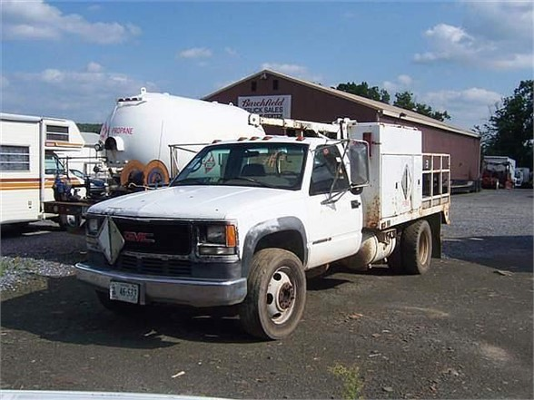 1996 GMC 3500 Flatbed Truck