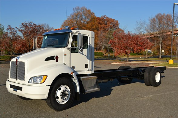 2020 KENWORTH T270 CAB CHASSIS TRUCK #692314