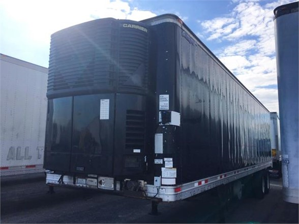 USED 2007 GREAT DANE REEFER TRAILER #630242