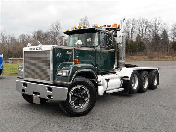 USED 1989 MACK SUPERLINER RWS754 DAYCAB TRUCK #610139