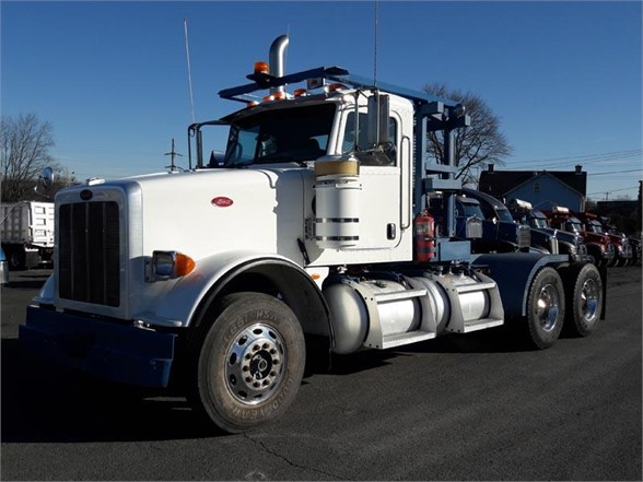 USED 2008 PETERBILT 367 DAYCAB TRUCK #610895