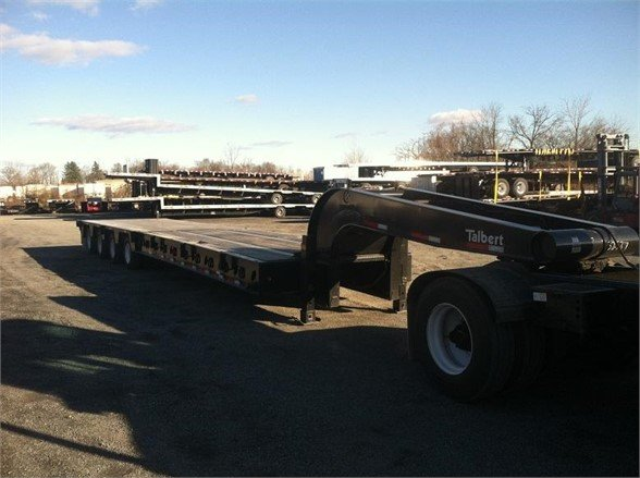 2015 TALBERT Oil Field 60 Ton Trailer