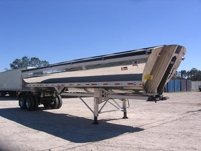 2017 TRAVIS Alumatech Frameless Dump End Dump Trailer