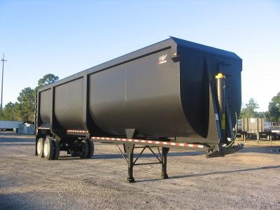2018 MANAC Hardox Frameless Dump End Dump Trailer