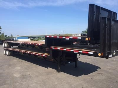 2018 FONTAINE 48' Steel Single Drop Drop Deck Trailer