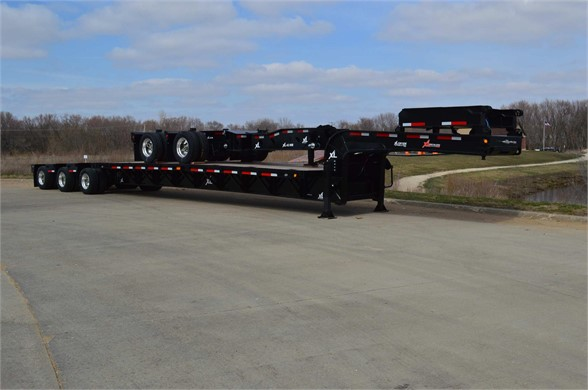 2016 XL SPECIALIZED 120 SDE 60 ton Extentable lowboy Lowboy Trailer