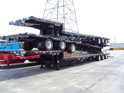 2013 MANAC 53' - 71' SD EXTENDABLE Drop Deck Trailer