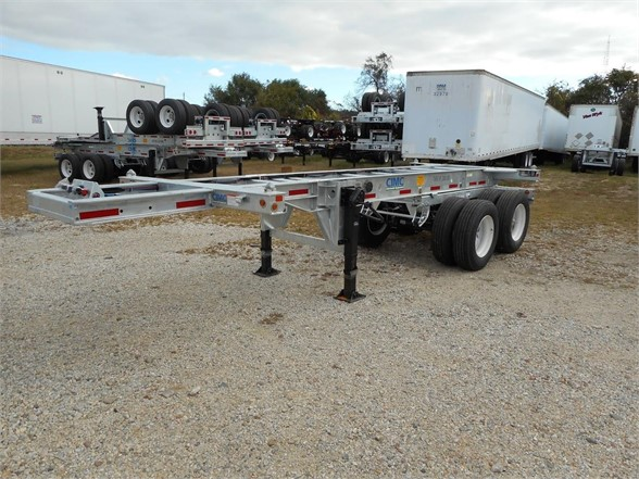 NEW 2018 CIMC CONTAINER CHASSIS CONTAINER TRAILER #624011