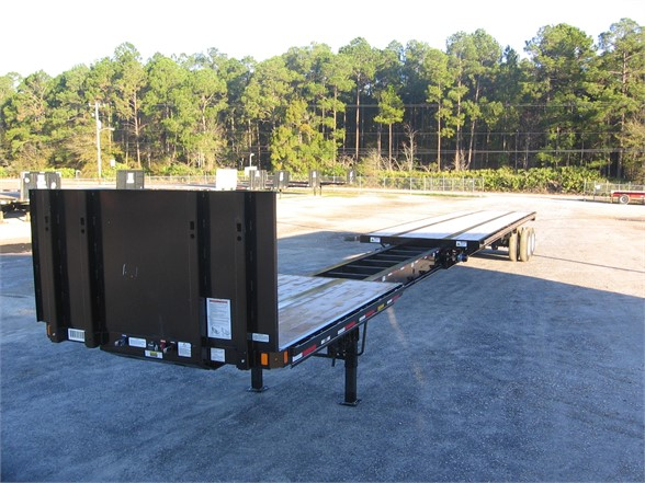 2017 FONTAINE Fontaine 53 - 90 steel  x flats Flatbed Trailer