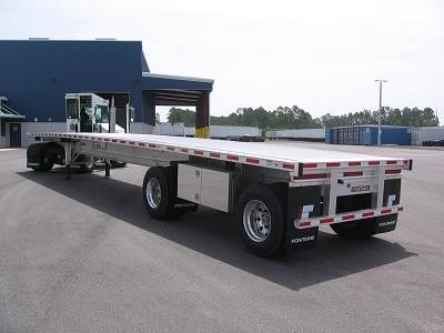 2017 FONTAINE 48X102 Flatbed Trailer