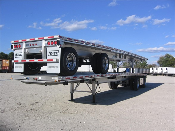 NEW 2019 EAST EAST BSTII ALUMINUM 48 AIR RIDE SPREAD FLATBED FLATBED TRAILER #600426