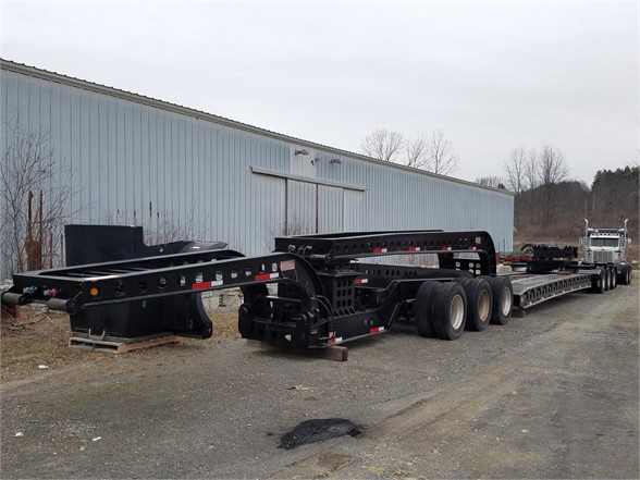 2000 KALYN / SIEBERT 3+3+2 75 Ton 12 axle trailer Lowboy Trailer